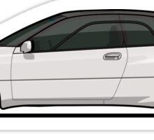 Gene's Pearl White Subaru SVX Sticker