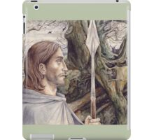 Beren the Solitary Outlaw iPad Case/Skin