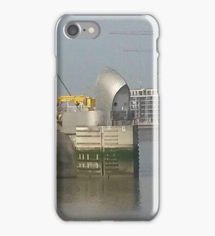Thames Barrier iPhone Case/Skin