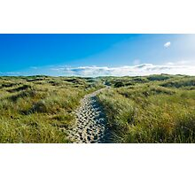 Trail of Sand  Photographic Print