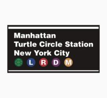 TMNT NYC Subway Sign Kids Clothes