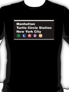TMNT NYC Subway Sign T-Shirt