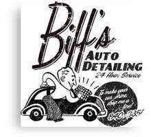 Biffs Auto Detailing Canvas Print