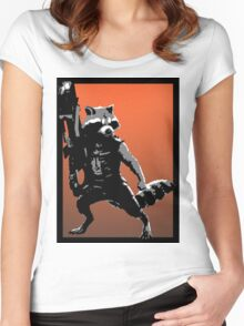 Rocket Racoon Women's Fitted Scoop T-Shirt