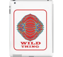 WILD THING. Symbolic Clothes, Prints, & Stickers. iPad Case/Skin