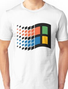 Windows 95 Logo Unisex T-Shirt