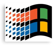 Windows 95 Logo Canvas Print