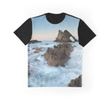 Sunset at Bow Fiddle Rock Graphic T-Shirt