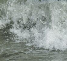 Tumbling Waves Sticker