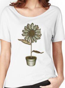 Flower & Pot IV Women's Relaxed Fit T-Shirt