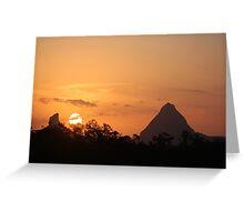 Glasshouse Sun Greeting Card