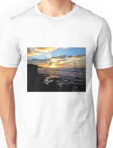 On Sunset Beach Unisex T-Shirt
