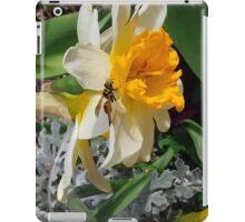 A Jonquil Hosts a Pollinator iPad Case/Skin