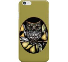 ...and an owl in a pear tree iPhone Case/Skin