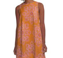 Sunburst A-Line Dress