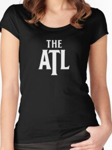 The ATL Women's Fitted Scoop T-Shirt