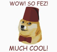 Funny Doge Meme - Doctor Who Parody - So Fez T Shirt by wordsonashirt