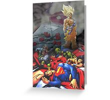DRAGON BALL Z Greeting Card