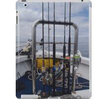 Weapons of fish destruction iPad Case/Skin