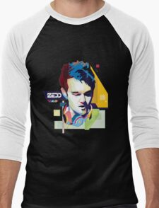 zedd Vrctor Skecth Men's Baseball ¾ T-Shirt