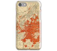Map Of Aleppo 1929 iPhone Case/Skin