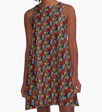 Small World A-Line Dress