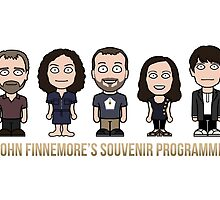 John Finnemore's Souvenir Gang (print or card) by redscharlach