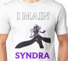 I main Syndra - League of Legends Unisex T-Shirt