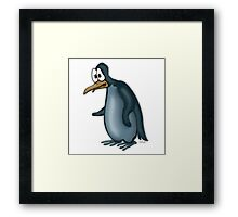 A Blue Penguin Framed Print