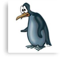 A Blue Penguin Canvas Print
