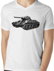 T-34 Mens V-Neck T-Shirt