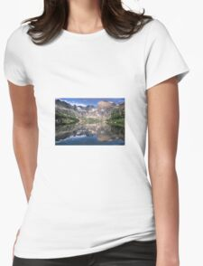 Mirror Image Womens Fitted T-Shirt