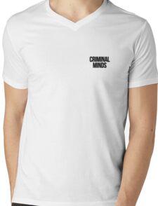 Criminal Minds Mens V-Neck T-Shirt