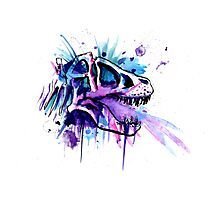 splatter rex Photographic Print