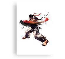 Ryu - Street Fighter Canvas Print