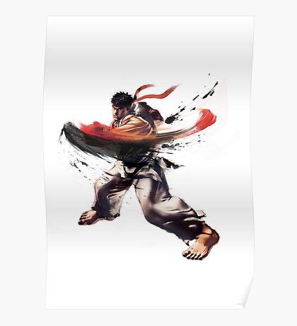 Ryu - Street Fighter Poster