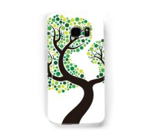 Colorful tree, colouring art Coque et skin Samsung Galaxy