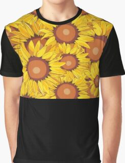 Surrounded by Sunflowers Graphic T-Shirt