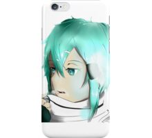 Sinon Sword Art Online 2 iPhone Case/Skin