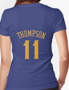 Klay Thompson Womens Fitted T-Shirt
