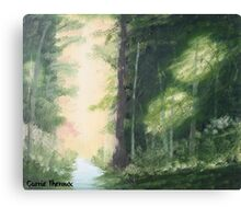 Carrie's Forest Canvas Print