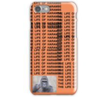 Harambe - The Life of Harambe iPhone Case/Skin