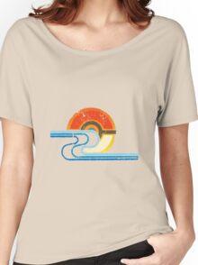 Monster Ball Beach Tee Women's Relaxed Fit T-Shirt