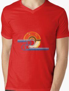 Monster Ball Beach Tee Mens V-Neck T-Shirt