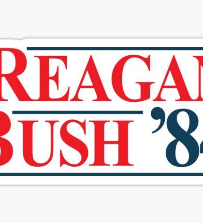 Legendary Regan Bush 84 Campaign Sticker