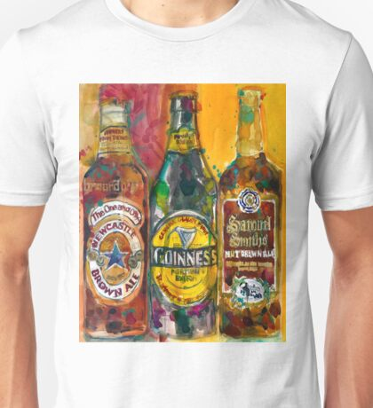 NewCastle, Guinness, Samuel Smith  Unisex T-Shirt
