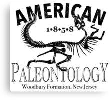 American Paleontology Canvas Print