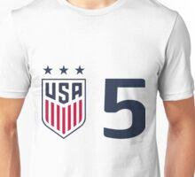 USWNT 5 Unisex T-Shirt