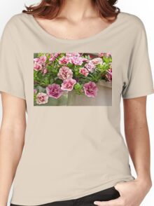 Petunias Posing as Roses Women's Relaxed Fit T-Shirt