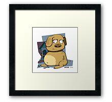 Dog-n-Bones Framed Print